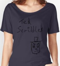 Angry Ted Women's Relaxed Fit T-Shirt