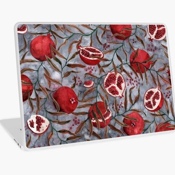 Granatäpfel Aquarell Laptop Folie