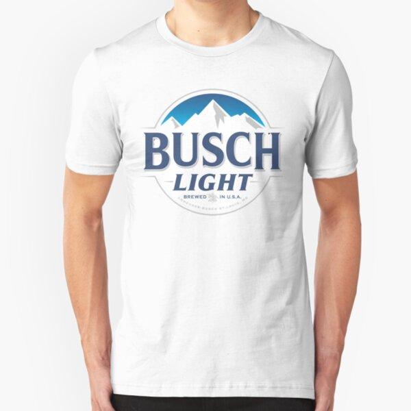 Busch Light Brewed in USA Slim Fit T-Shirt