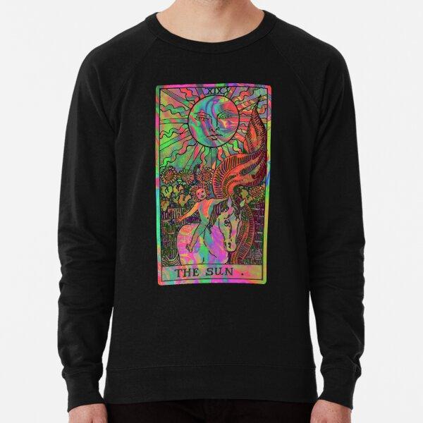 XIX. The Sun Tarot Card | Psychedelic Lightweight Sweatshirt