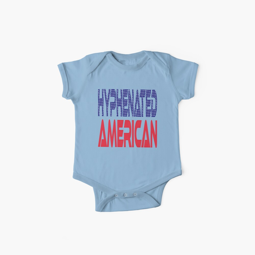 #OurPatriotism: Hyphenated American by Devin Baby One-Piece