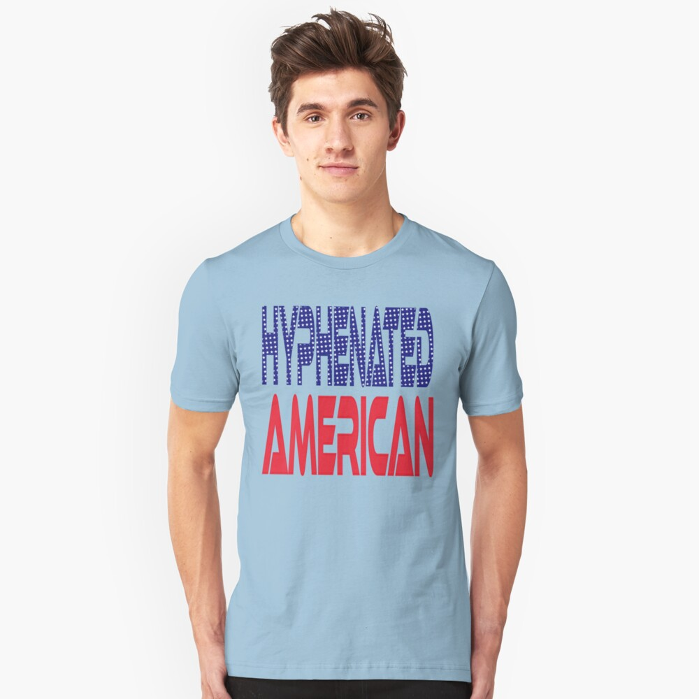 #OurPatriotism: Hyphenated American by Devin Slim Fit T-Shirt