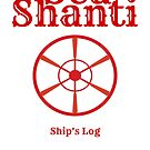 Sea Shanti Ship's Log by theseashanti