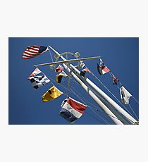 A Mast for the Navy Photographic Print