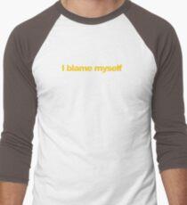 Ghostbusters - I blame myself Men's Baseball ¾ T-Shirt