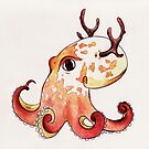 Elktopus by saralynncreativ