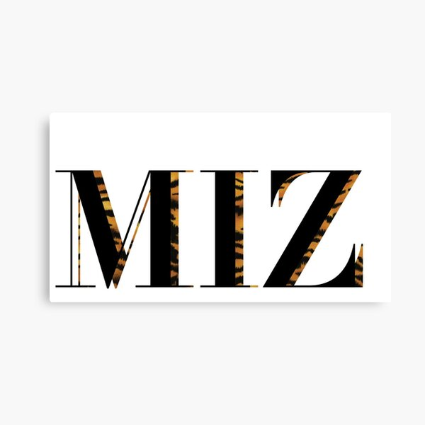 MIZ Canvas Print