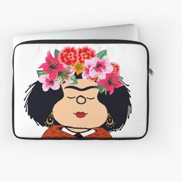 Mafalda Kahlo Fanart Laptop Sleeve