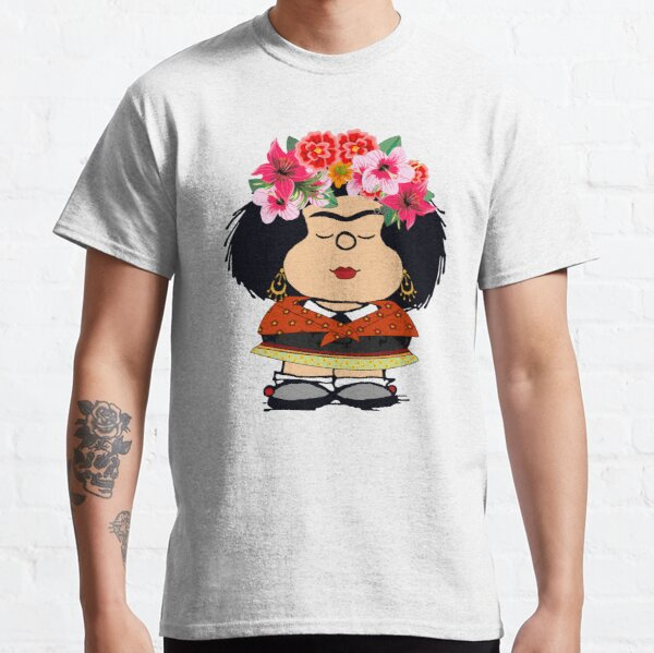 Mafalda Kahlo Fanart T-shirt classique