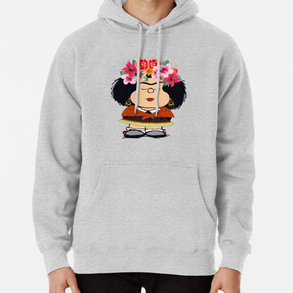 Mafalda Kahlo Fanart Sudadera con capucha