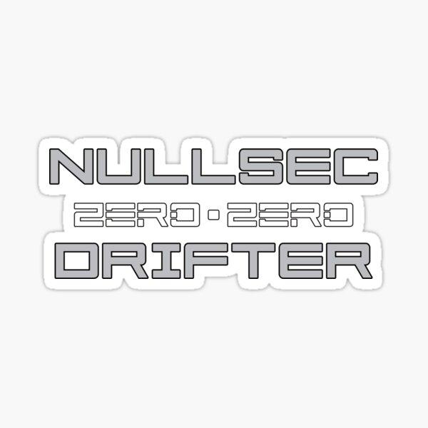 Nullsec Drifter Sticker