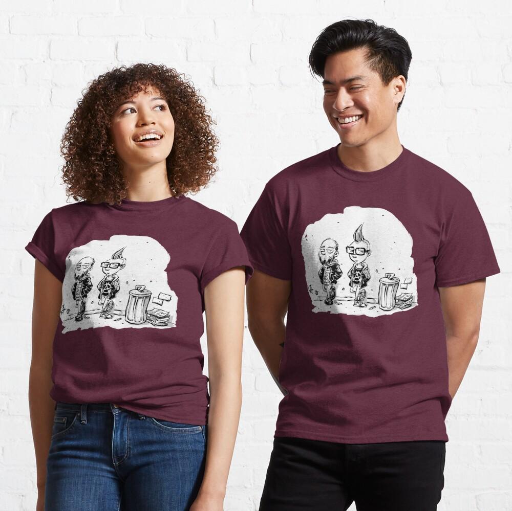 Punk's not dead Jochen & Raimund by Raimund Frey Classic T-Shirt