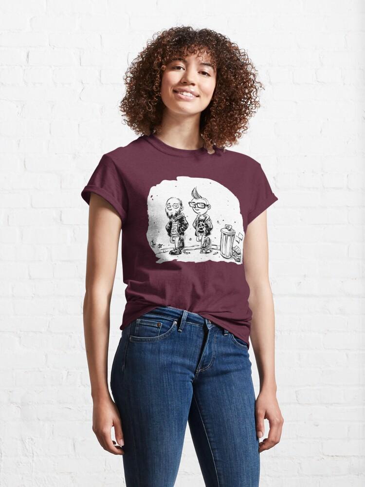 Alternative Ansicht von Punk's not dead Jochen & Raimund by Raimund Frey Classic T-Shirt