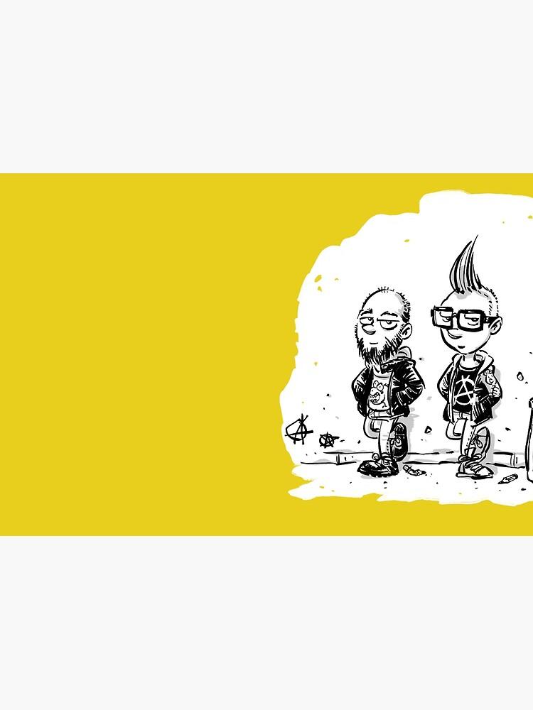 Punk's not dead Jochen & Raimund by Raimund Frey von joti