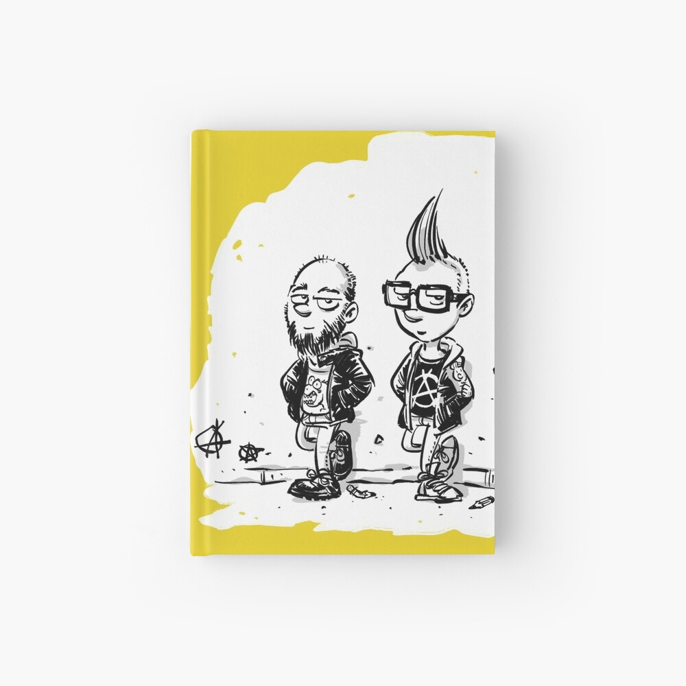 Punk's not dead Jochen & Raimund by Raimund Frey Notizbuch