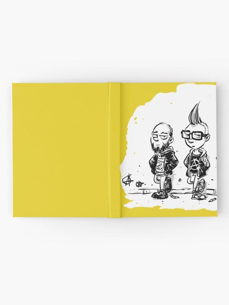 Alternative Ansicht von Punk's not dead Jochen & Raimund by Raimund Frey Notizbuch