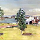 Blundell's Farmhouse, Canberra, 1960s by Estelle O'Brien