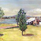 Blundells Bauernhaus, Canberra, 1960er Jahre von Estelle O'Brien
