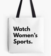 Watch Women's Sports Tote Bag