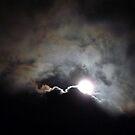 Full moon 23/9/10 by Photos - Pauline Wherrell