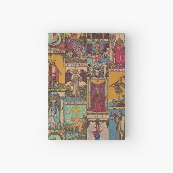The Major Arcana of Tarot Vintage Patchwork Hardcover Journal