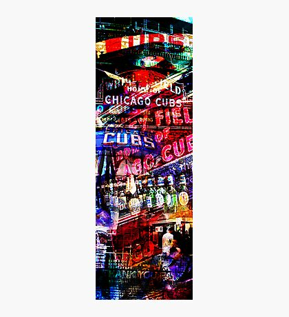 chicago cubs montage Photographic Print