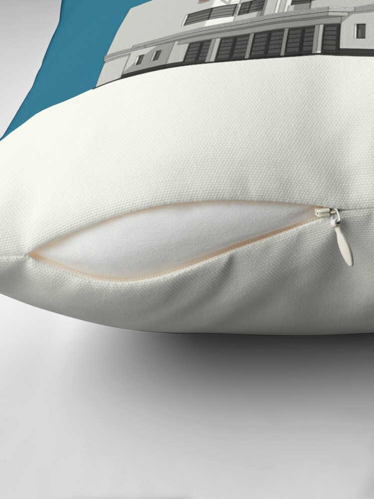 Alternate view of ODEON Balham Throw Pillow