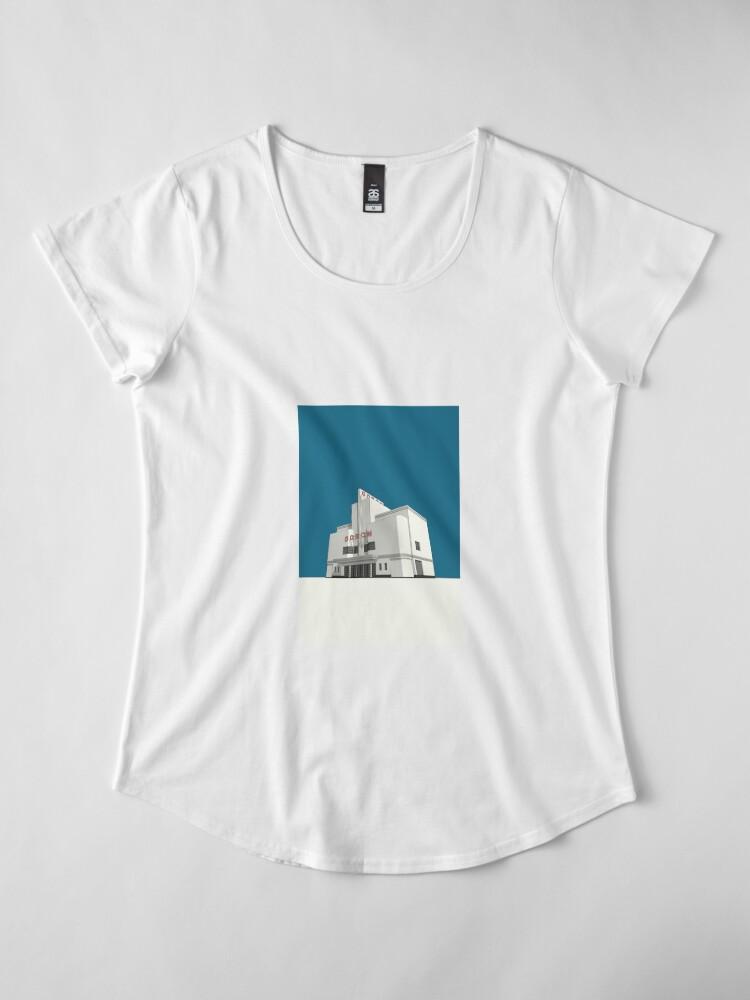 Alternate view of ODEON Balham Premium Scoop T-Shirt