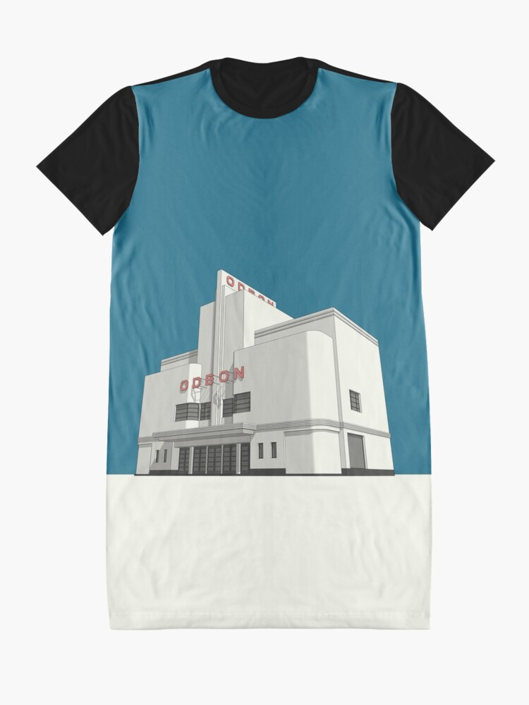 Alternate view of ODEON Balham Graphic T-Shirt Dress