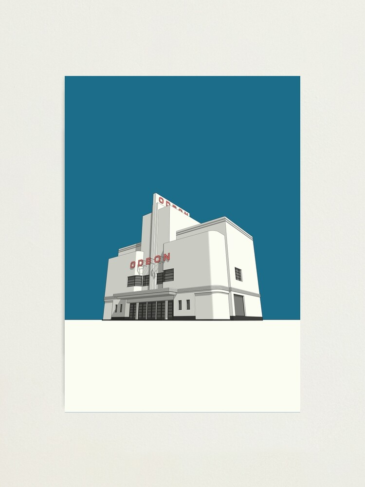 Alternate view of ODEON Balham Photographic Print