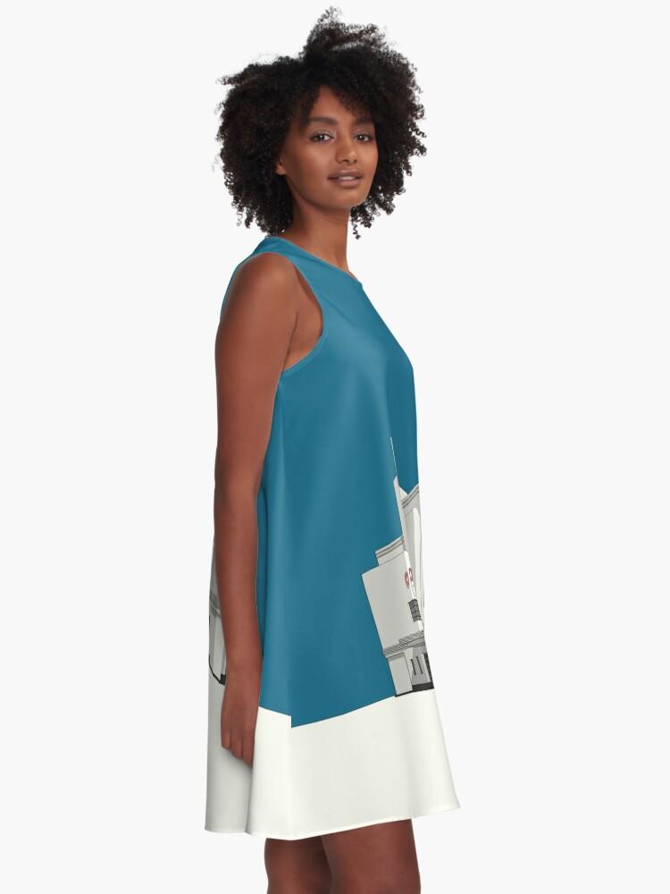Alternate view of ODEON Balham A-Line Dress