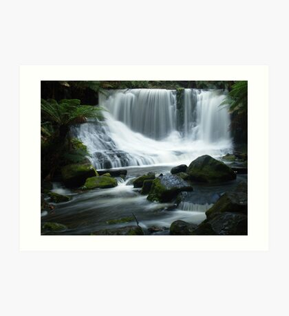 Horseshoe Falls, Tasmania Art Print
