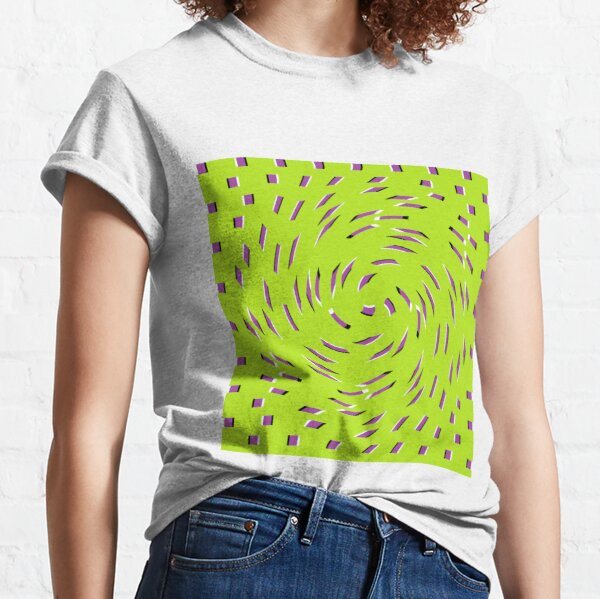 #Optical #Illusion #OpticalIllusion #OpticalArt #OpArt #VisualPercept #VisualIllusion #visualillusionartist #visualIllusions #opticalillusions Classic T-Shirt