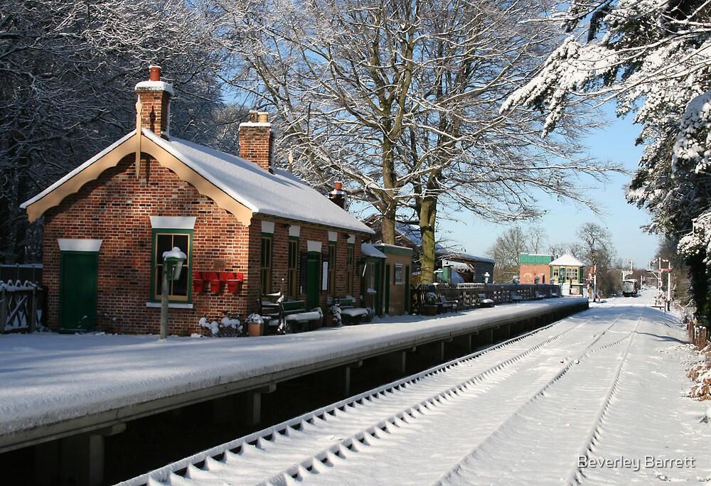 Holt Station, Norfolk by Beverley Barrett