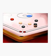 Amusing carom game	 Photographic Print