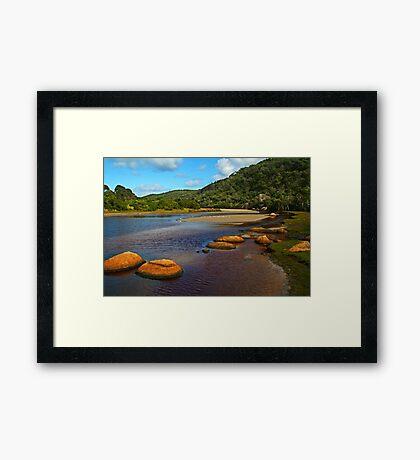Tidal River,Wilsons Prom Framed Print