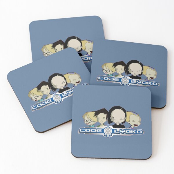 Code Lyoko Coasters (Set of 4)