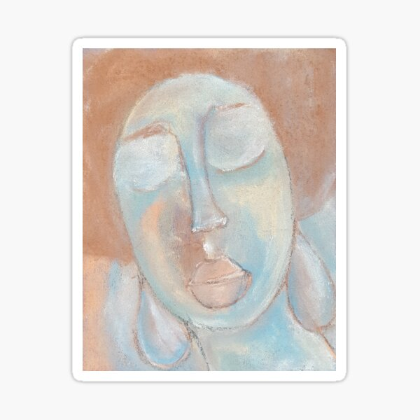 Pastel Painting S05 Sticker