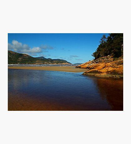 Tidal River Meets the Sea,Wilsons Prom Photographic Print