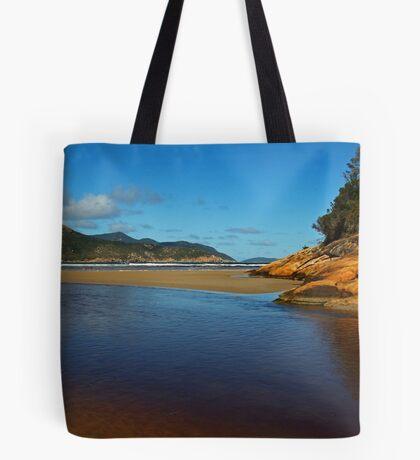 Tidal River Meets the Sea,Wilsons Prom Tote Bag
