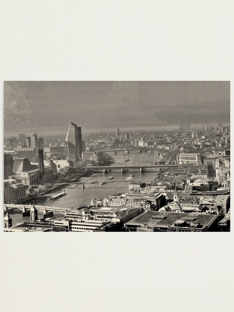 Alternate view of A London view Photographic Print
