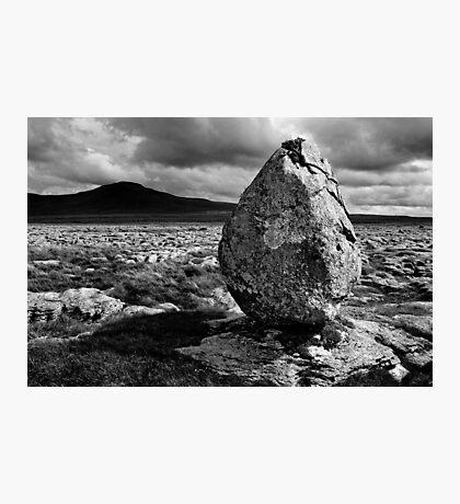 Ingleborough from Twisleton Scar, Yorkshire Dales Photographic Print