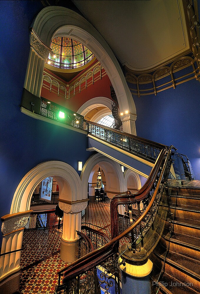Victorian Majesty - The Queen Victoria Building Sydney - The HDR Experience by Philip Johnson