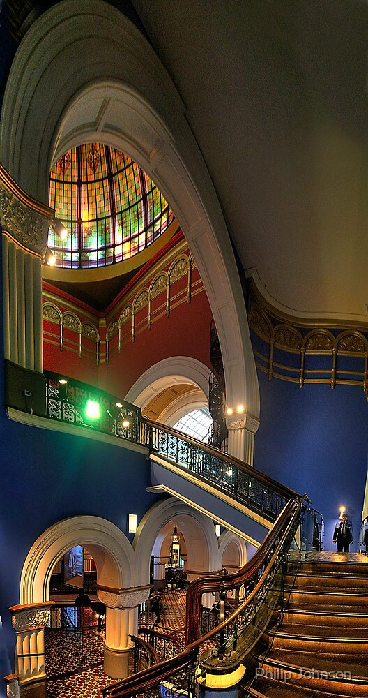 Twisted - QVB, Sydney - The HDR Experience by Philip Johnson