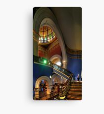 Twisted - QVB, Sydney - The HDR Experience Canvas Print
