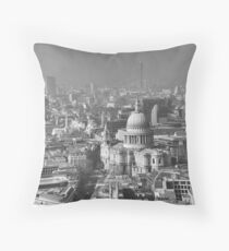 View of London Throw Pillow