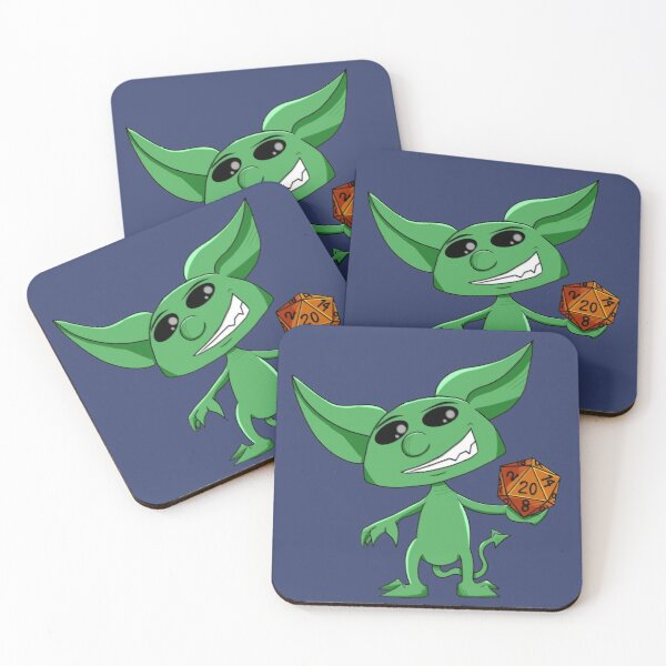 Dice Imp Coasters (Set of 4)