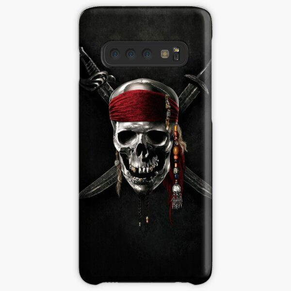 Pirate of the Caribbean Skull Jolly Roger Samsung Galaxy Snap Case