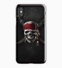 Pirate of the Caribbean Skull Jolly Roger iPhone Case