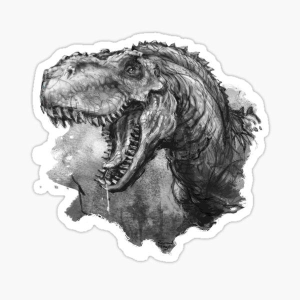 T-rex Portrait Sticker
